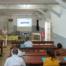 Le Dr Ionela Gouandjika, chef du Laboratoire des Virus Entériques Rougeole et Olga Lydie Sakanga, Responsable Assurance Qualité, ont organisé des sessions de formation sur la gestion du risque biologique pour l'année 2019. Cette activité, proposée à l'ensemble des services, a bénéficié de l'expertise acquise auprès de l'OMS dans le cadre du programme de confinement du Poliovirus.