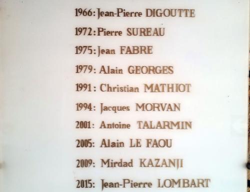 8 janvier 2020 – Départ du Directeur Général de l'Institut Pasteur de Bangui le Dr Jean-Pierre LOMBART