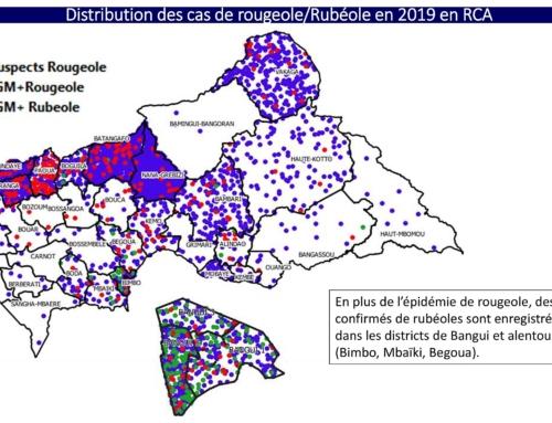 29 janvier 2020 – Epidémie de rougeole sévère en République Centrafricaine