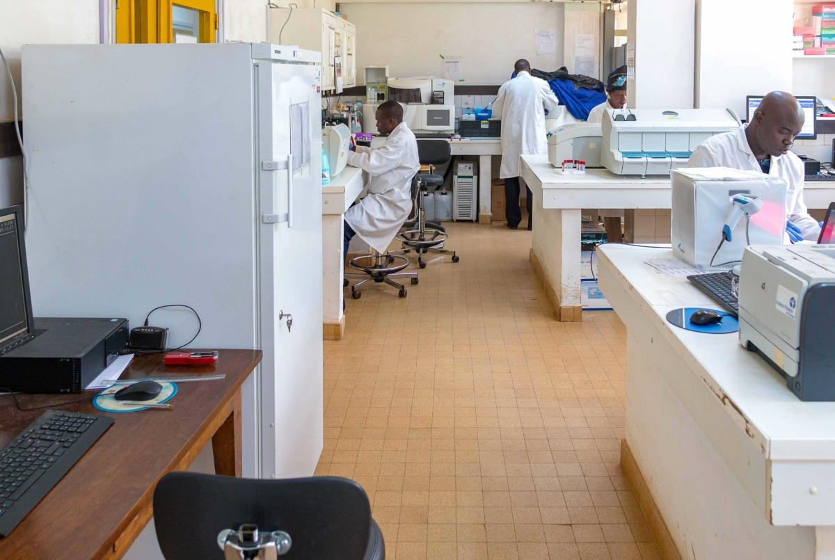 Le laboratoire des Hépatites virales de l'Institut Pasteur de Bangui se préoccupe de l'impact épidémiologique et pronostique des mutations du virus de l'hépatite B (génotype E/A, mutants d'échappement immunitaire et mutants de polymérase) en République Centrafricaine.