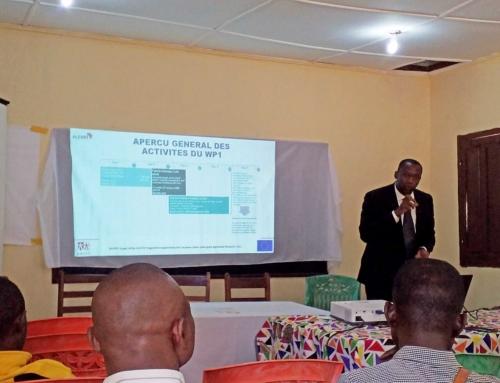 6 février 2020 – Démarrage officiel de l'étude FISSA (Febrile Illness in Sub-Saharan Africa) dans le cadre du projet ALERRT à l'hôpital de District de Sibut en République Centrafricaine
