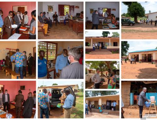 14 mai 2020 – Le Dr Guy VERNET visite le site du projet ALERRT de Sibut