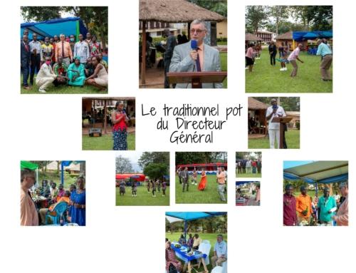 05 novembre 2020 – Le Dr Guy VERNET organise le traditionnel « pot du directeur général »